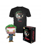 Pop! DC Comics - Death of Joker Tee Box