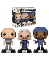 Pop! Star Wars - Lobot, Ugnaught and Bespin Guard (3-Pack)