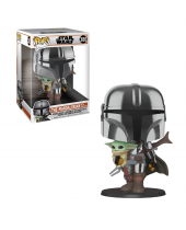 Pop! Star Wars - The Mandalorian with the Child (Super Sized, 25cm)