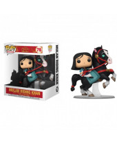 Pop! Disney - Mulan - Mulan Riding Khan (Super Sized, 18cm)