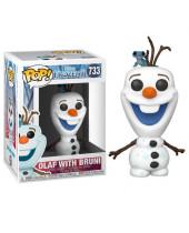 Pop! Disney - Frozen 2 - Olaf with Bruni