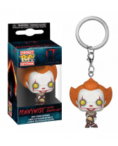 Pop! Pocket Keychain - It - Pennywise (with Beaver Hat)