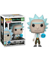 Pop! Animation - Rick and Morty - Rick with Crystal Skull