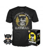 Pop! DC Comics - Batman Sun Faded Tee Box