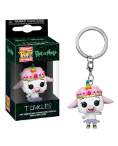 Pop! Pocket Keychain - Rick and Morty - Tinkles