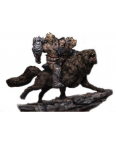 Warcraft - The Beginning socha 1/9 Blackhand Riding Wolf (Standard Version) 40 cm