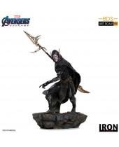 Avengers Endgame BDS Art Scale socha 1/10 Corvus Glaive Black Order 27 cm