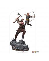 God of War BDS Art Scale socha 1/10 Kratos and Atreus 34 cm