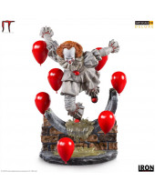 It Chapter Two Deluxe Art Scale socha 1/10 Pennywise 21 cm