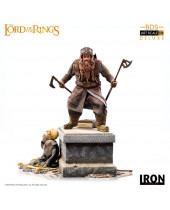 Lord Of The Rings Deluxe BDS Art Scale socha 1/10 Gimli 21 cm