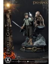 Lord of the Rings socha 1/4 Frodo and Gollum Bonus Version 46 cm