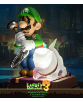Luigis Mansion 3 PVC socha Luigi and Polterpup Collectors Edition 23 cm