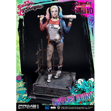 Suicide Squad socha 1/3 Harley Quinn 72 cm