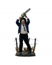 Texas Chainsaw Massacre socha 1/3 Leatherface Pretty Woman Mask 84 cm