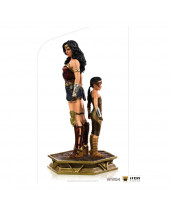 Wonder Woman 1984 Deluxe Art Scale socha 1/10 Wonder Woman and Young Diana 20 cm