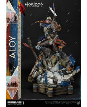 Horizon Zero Dawn socha 1/4 Aloy Shield Weaver Armor Set 70 cm