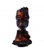 Terminator 2 - Judgment Day replika 1/1 T-800 Endoskeleton Mask Battle Damaged Version 46 cm