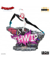 Spider-Man - Into the Spider-Verse BDS Art Scale Deluxe socha 1/10 Gwen Stacey 17 cm