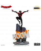 Spider-Man - Into the Spider-Verse BDS Art Scale Deluxe socha 1/10 Miles Morales 22 cm