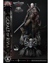 Witcher 3 Wild Hunt socha 1/3 Geralt von Riva Deluxe Version 88 cm