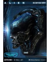 Alien 3D Wall Art Warrior Alien Head Trophy Open Mouth Version 58 cm