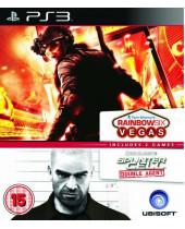 Splinter Cell - Double Agent + Rainbow Six - Vegas (PS3)