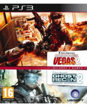 Rainbow Six - Vegas 2 + Ghost Recon - Advanced Warfighter 2 (PS3)