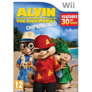 Alvin and the Chipmunks - Chipwrecked (Wii)
