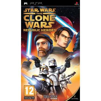 Star Wars The Clone Wars - Republic Heroes (PSP)