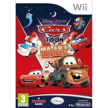 Cars Toon - Maters Tall Tales (Wii)