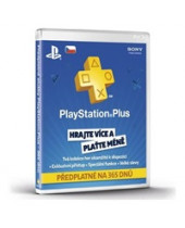 SONY PlayStation Plus Card 365 dní CZ (krabicová verzia)
