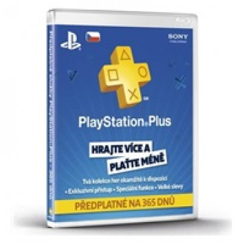SONY PlayStation Plus Card 365 dní CZE (digitálny produkt)