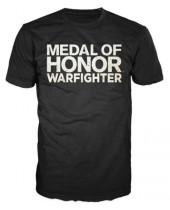 Medal of Honor Warfighter - Black Text Logo (T-Shirt)