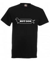 Hot Dog (Funny T-Shirt)