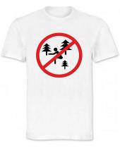 Zákaz pokládky v parku (Funny T-Shirt)