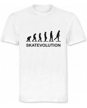 Skatevolution (Funny T-Shirt)