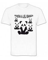 Panda a jej banda (Funny T-Shirt)
