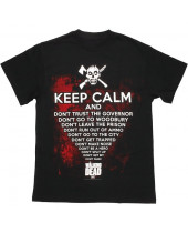 Walking Dead - Keep Calm (T-Shirt)