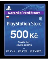 PlayStation Network Card (PSN Karta) 500 Kč