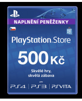 PlayStation Network Card (PSN Karta) 500 Kč (krabicová verzia)