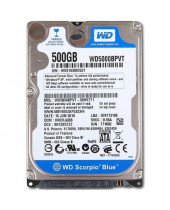 Western Digital 2,5 HDD Scorpio Blue 500GB