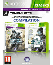 Ghost Recon - Future Soldier + Ghost Recon - Advanced Warfighter 2 (XBOX 360)