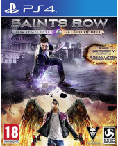 Saints Row 4 - Re-Elected + Gat Out of Hell (PS4)