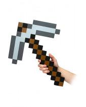 Minecraft Foam Replica Iron Pickaxe