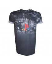 Playstation - Sublimation City Landscape (T-Shirt)