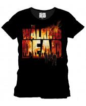 Walking Dead Burning Logo (T-Shirt)