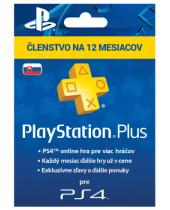 SONY PlayStation Plus Card 365 dní SK (krabicová verzia)