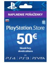 PlayStation Network Karta 50€ pre Slovenský PSN účet (krabicová verzia)