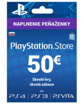 PlayStation Network Karta 50€ pre Slovenský PSN účet
