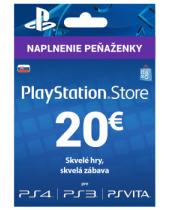 PlayStation Network Karta 20€ pre Slovenský PSN účet